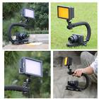 160 LED Video Light U Shape Bracket  Stabilizer Handle Grip