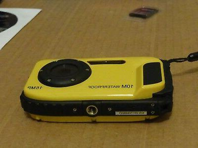 """KINGEAR 16MP 2.7"""" LCD Screen Yellow"""