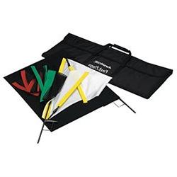 Westcott 1957 Fast Flags 24 x 36 Inches Fast Flag Kit Black