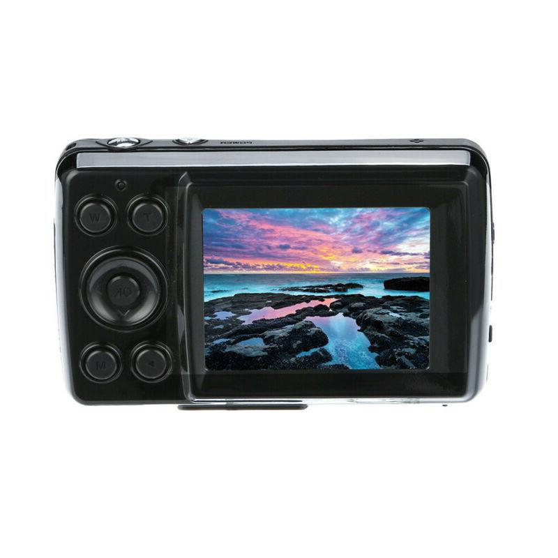 "2.4"" LCD Screen Camera Zoom Mic"