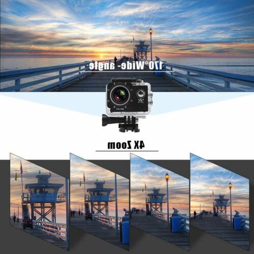 "2"" EK7000 4K Sports Camera HD 12MP OY"