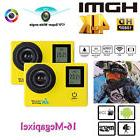 2'' LCD Waterproof Action Sport Camera 16MP HD 4K Dual Scree