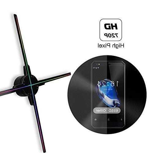 GIWOX 2019 3D Hologram Projector Fan 65