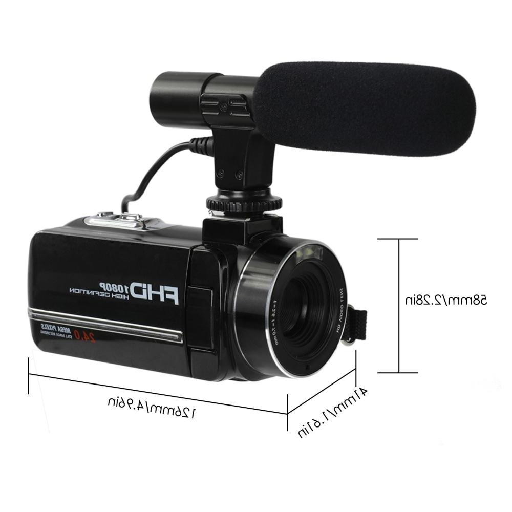 "24million Digital 8X Zoom Microphone 3"" <font><b>SONY</b></font> CMOS"