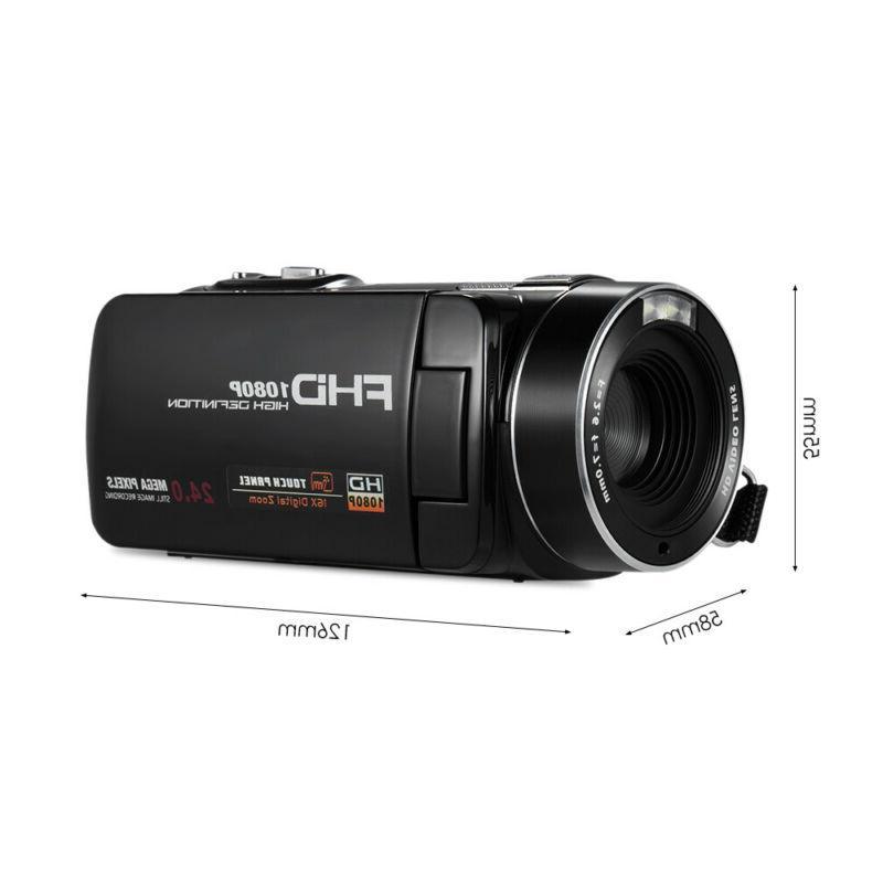 """FULL HD 24MP 3""""LCD Vision Camera Camcorder"""