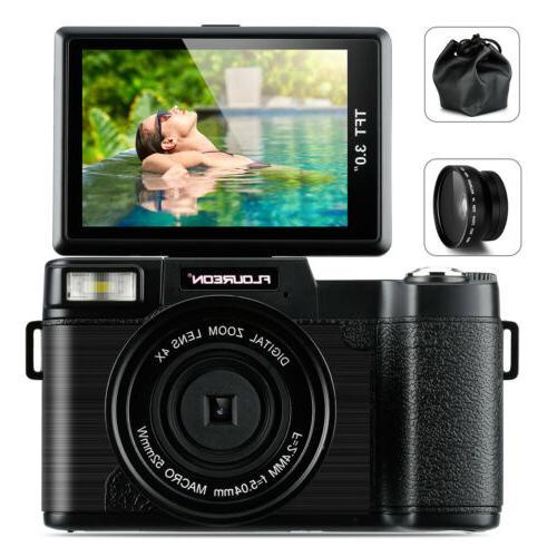 3 tft digital camera camcorder 1080p dv