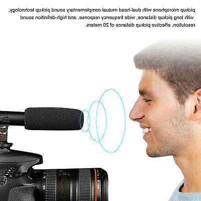 External Microphone For DSLR Nikon Panasonic