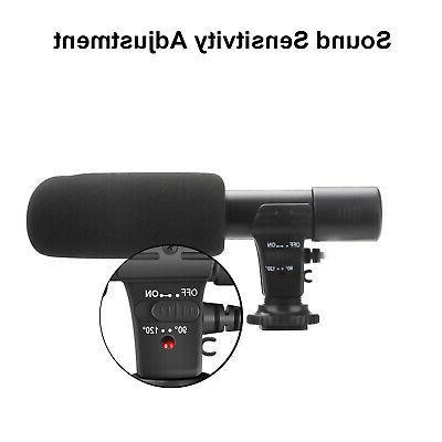 External DSLR Camera Nikon Panasonic Camcorder