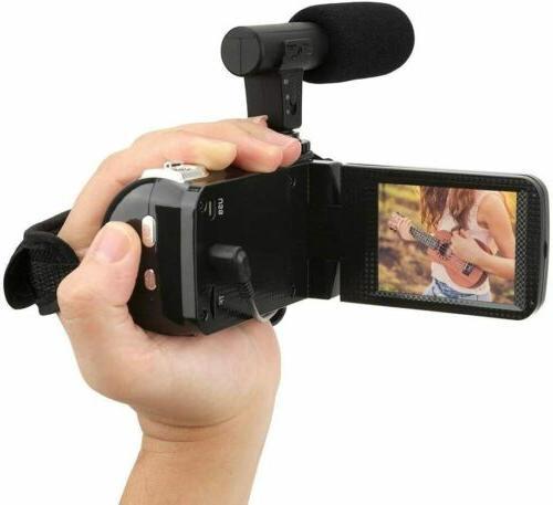 "3"" Camera 1080P Video 18X DV Camcorder Recorder"