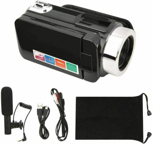 "3"" Digital Camera Video 18X ZOOM DV w/Microphone"