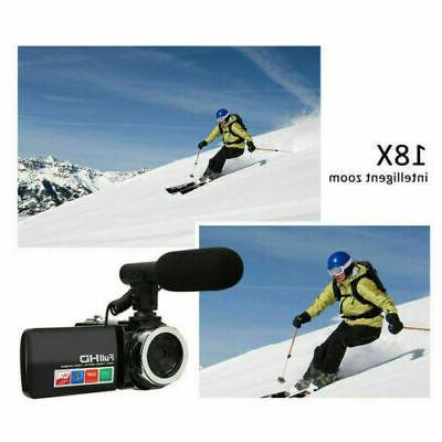 "3"" Digital 1080P Video 18X ZOOM 24MP DV"