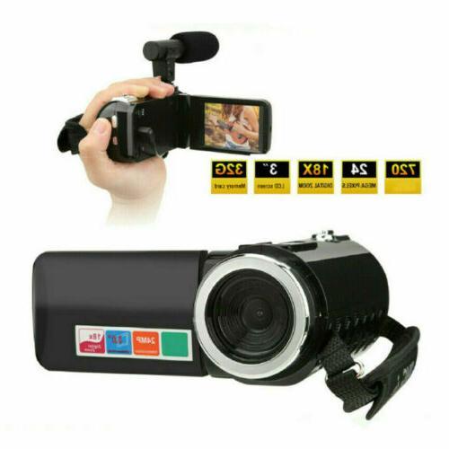 """3"""" Digital Camera 1080P DV"""