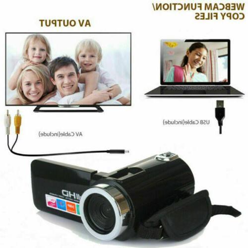 "3"" Camera Video 24MP DV Camcorder Recorder"