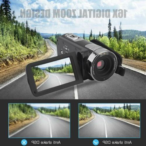 """3"""" Vlogging HD 24MP Vision"""