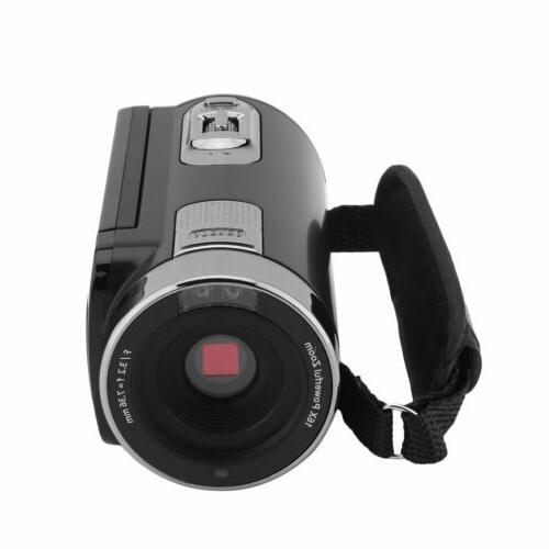 "3"" Camera Camcorder 1080P Full HD IR Night Vision"
