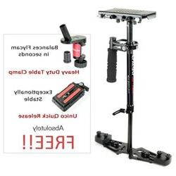 FLYCAM HD-3000 Handheld Video Stabilizer Supporting Cameras