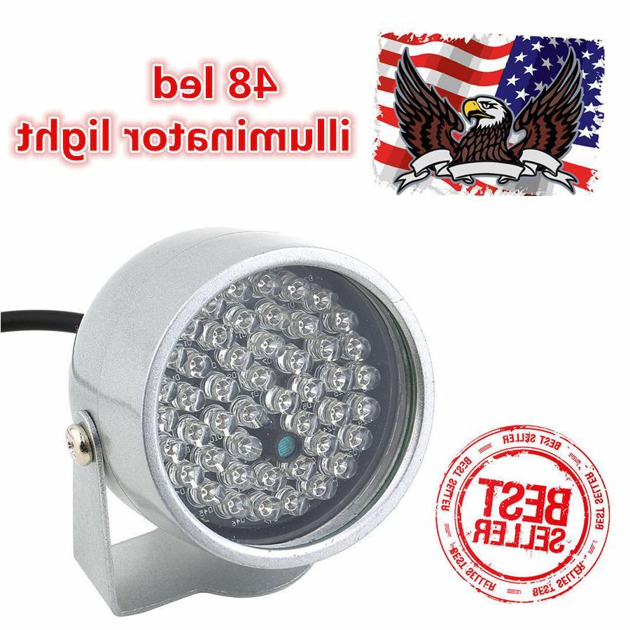 Lot2 48LED Illuminator IR Infrared Night Vision Light for Se