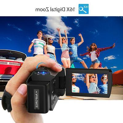 Andoer 4K WiFi Camcorder Recorder