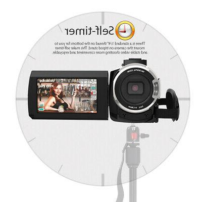 WiFi 4K ULTRA 1080P Video Camera Camcorder