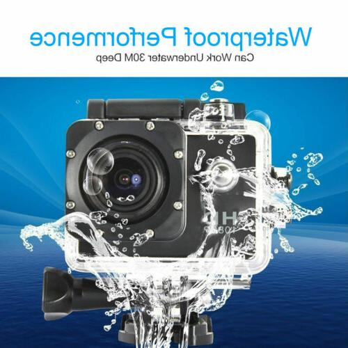 4K 1080P Waterproof Sports DVR Camcorder Go Pro