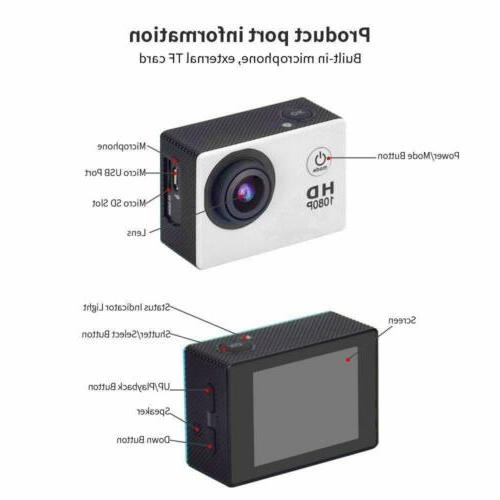 4K DVR Recorder Camcorder Go Pro