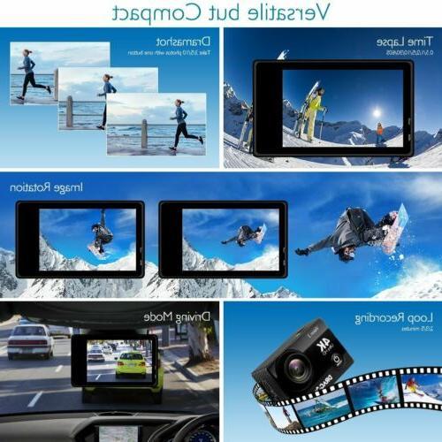 4K Waterproof Action Camera DVR Recorder Camcorder Pro