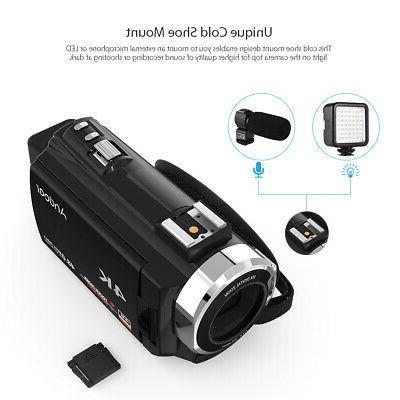 Digital Video Camera Camcorder DV 4K ULTRA