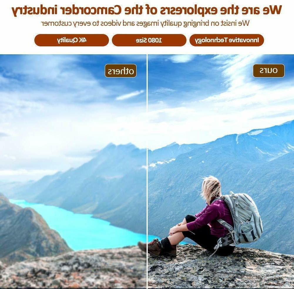 4K Camcorder Video Camera for Camcorder
