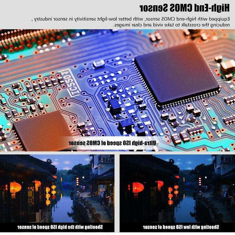 """HD 24MP ZOOM 3"""" Digital Camera Night US"""