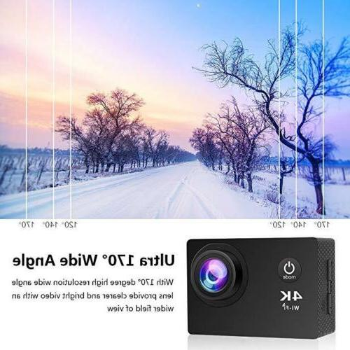 4K HD 1080P Waterproof Camera Action as Pro US