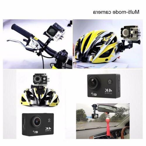 4K Ultra HD 1080P Waterproof Camera Action Pro