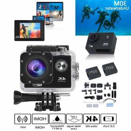 4K Ultra HD 1080P Waterproof Camera Action as Pro US