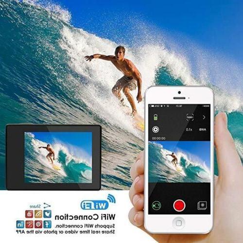 4K HD Waterproof Sport Camera WiFi Action Camcorder Pro