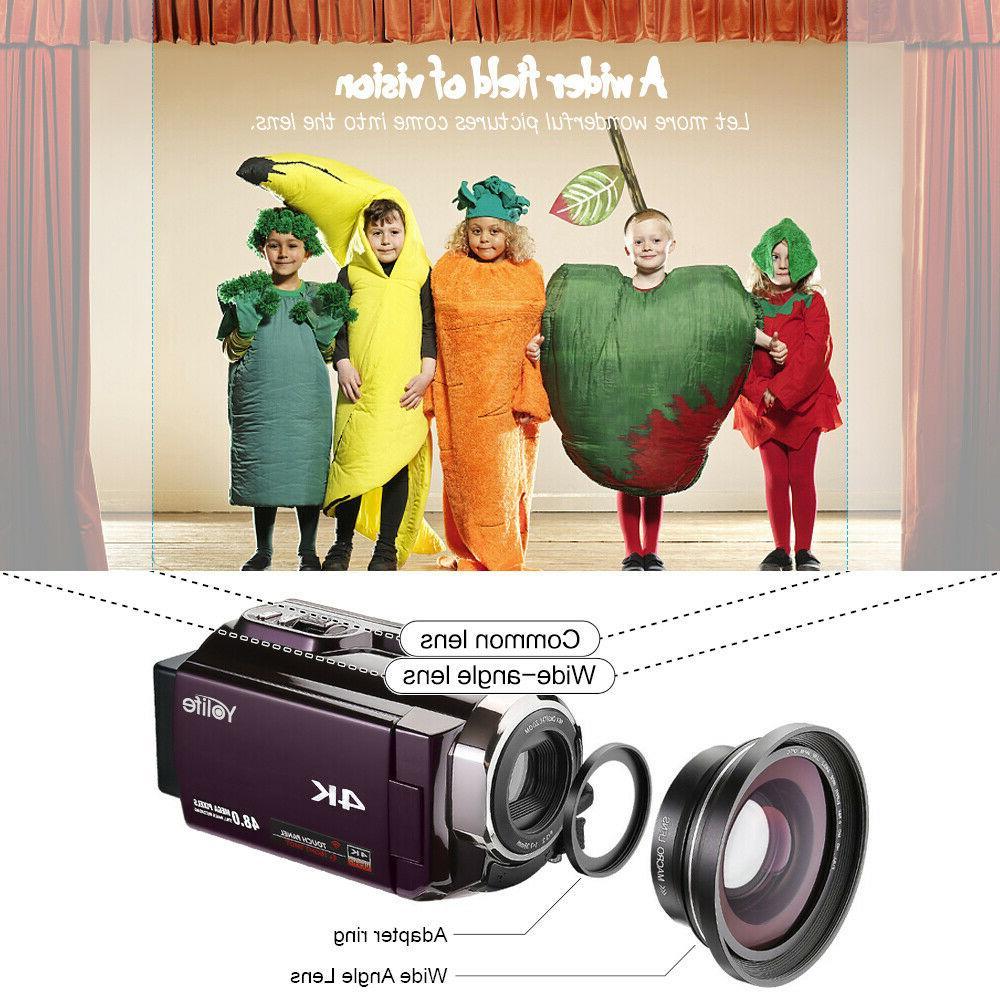 4K Ultra 16X Digital Camera Camcorder