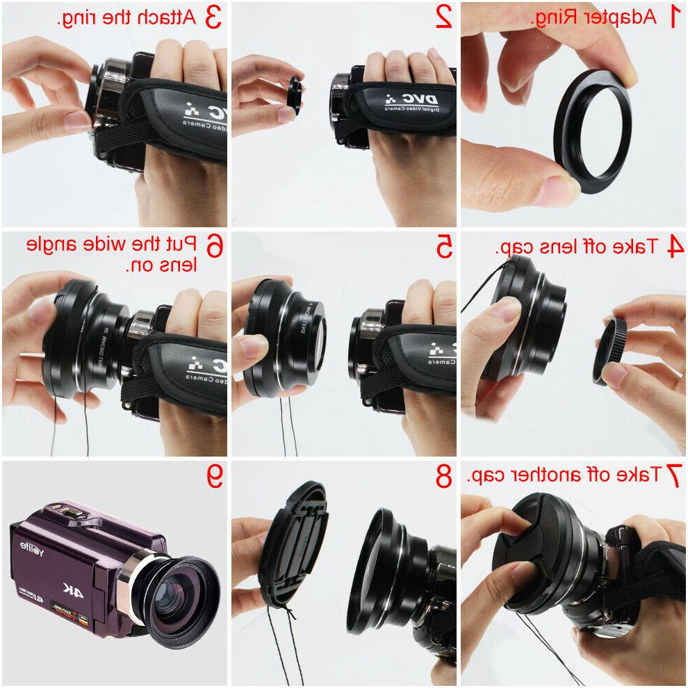 4K 16X Digital DV Camcorder