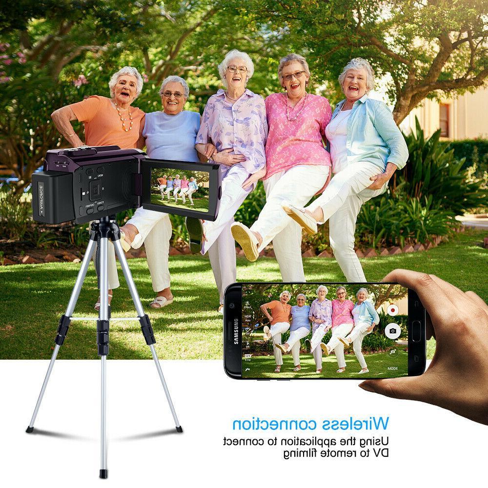 4K Ultra 16X ZOOM Digital Video Camcorder