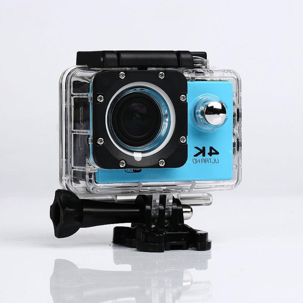4K 16MP 1080p Sports Action Camera + Accessory Bundle