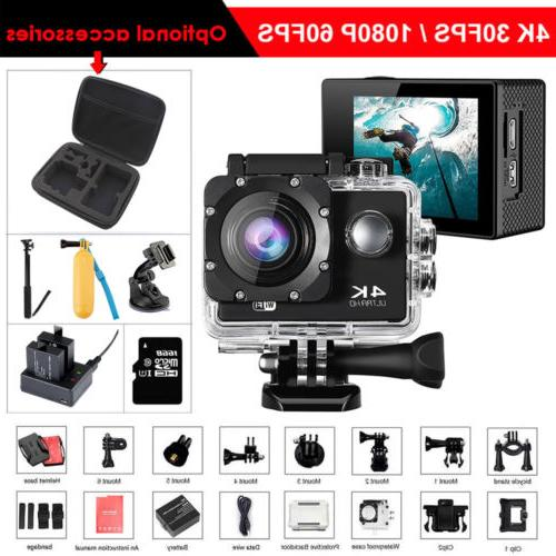4k wifi outdoor action camera video sport