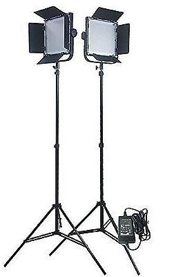 Fancierstudio 576 LED Light Panel Kit Video Lighting Kit Lig