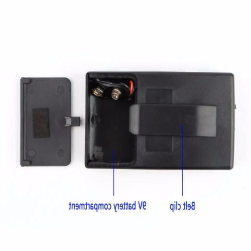 5PCS Clip-On Microphone Transmitter and Receiver & Camcorder Set