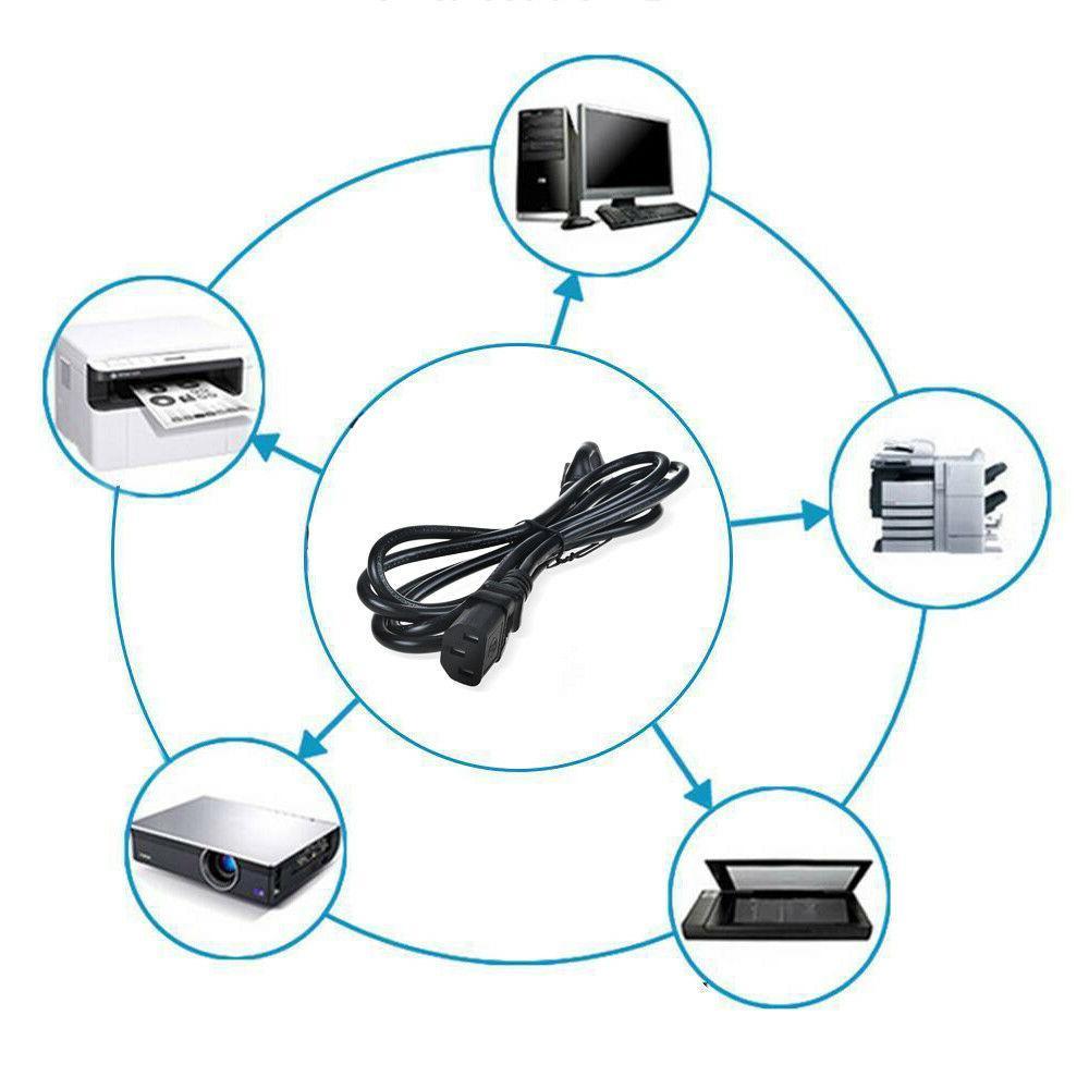 6ft UL AC Cord Cable Vizio TV Plug