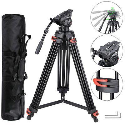 "71"" Professional DV Video Camera Alu Adjustable Tripod Stand"