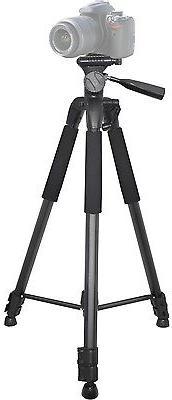"75"" Professional Heavy Duty Tripod W/Case For Canon XA35 XA3"
