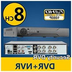 Logisaf 8ch Channel H.264 Cctv Security DVR NVR Full 960H D1