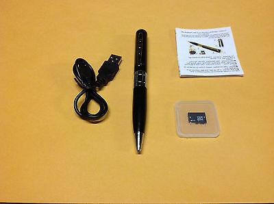 8GB Silver HD Spy Pen Camera DVR Audio Video Recorder Camcor