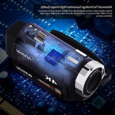 Andoer 1080P Digital Video Camera & Mic