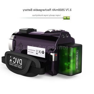 Andoer 4K 1080P 48MP Video & & Lens