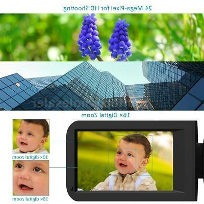 Andoer WiFi FULL IPS Video Camera DV &Microphone