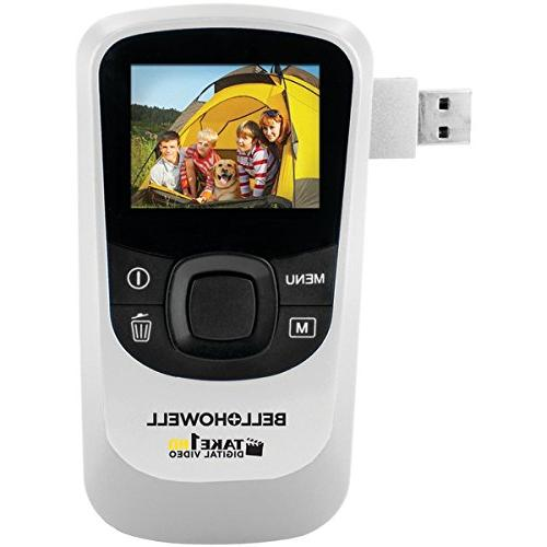 BELL+HOWELL T10HD-W 5.0 Megapixel 1080p Take1HD Digital Vide
