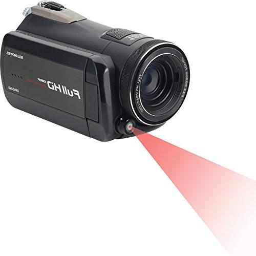 Bell Howell DNV24HDZ 1080p HD Video Night Vision Card + Case + LED Tripod Kit